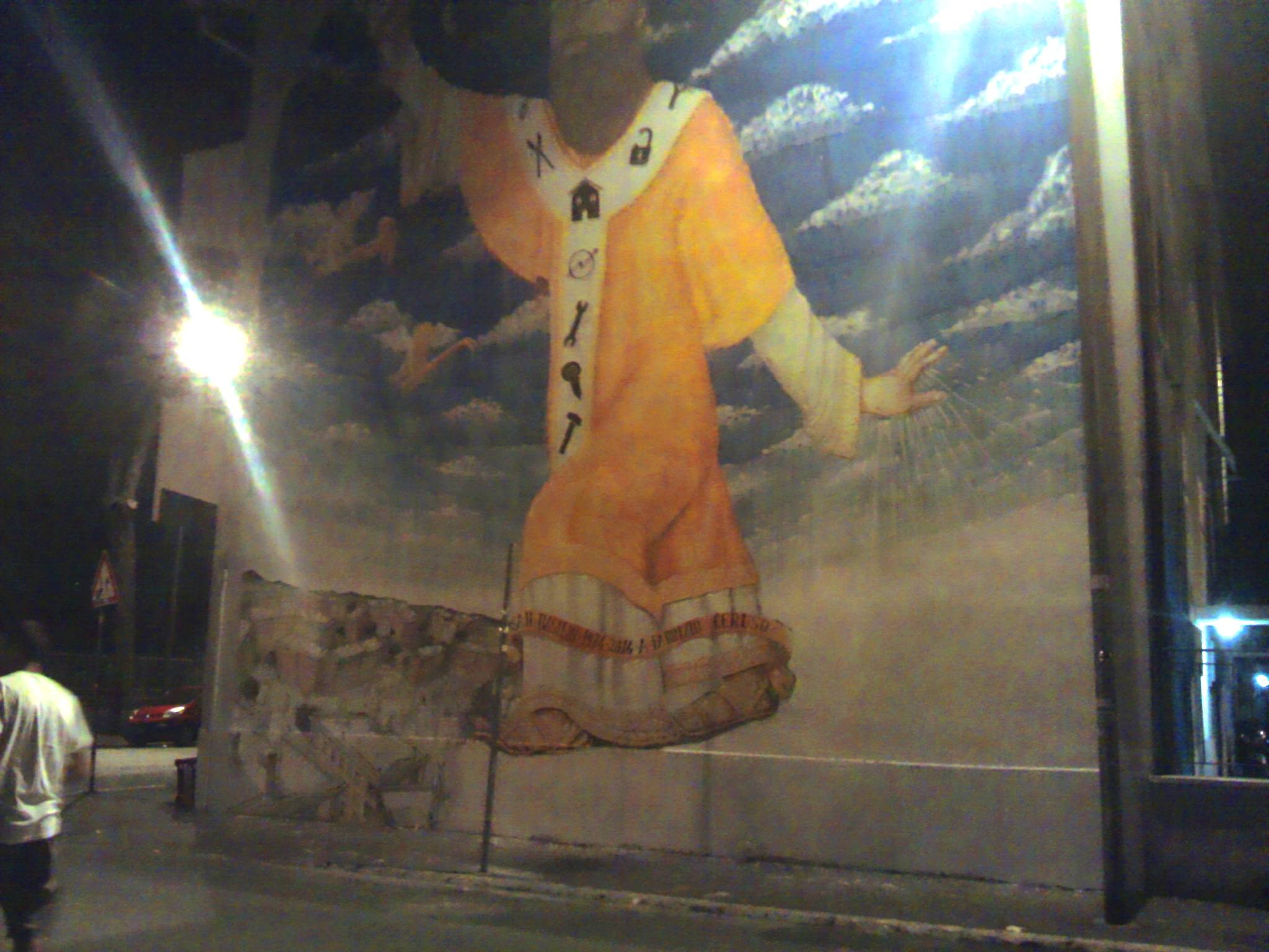murale blu san basilio