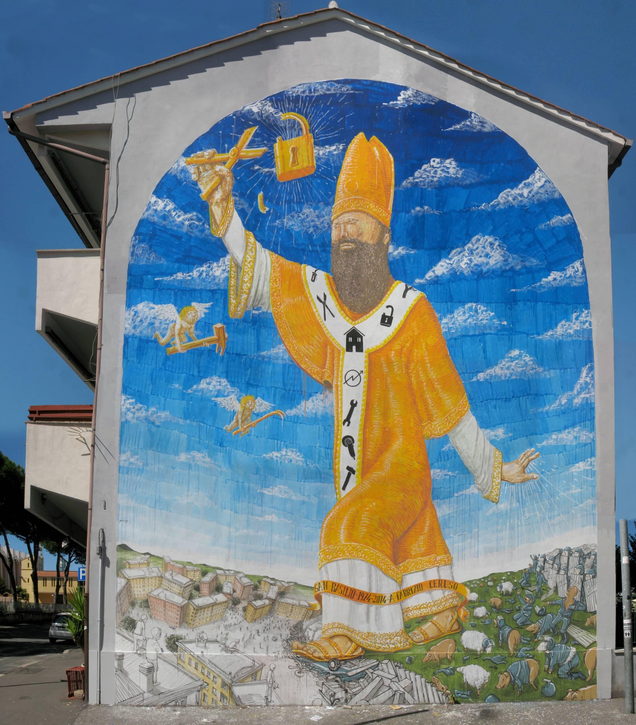 murales Blu san basilio