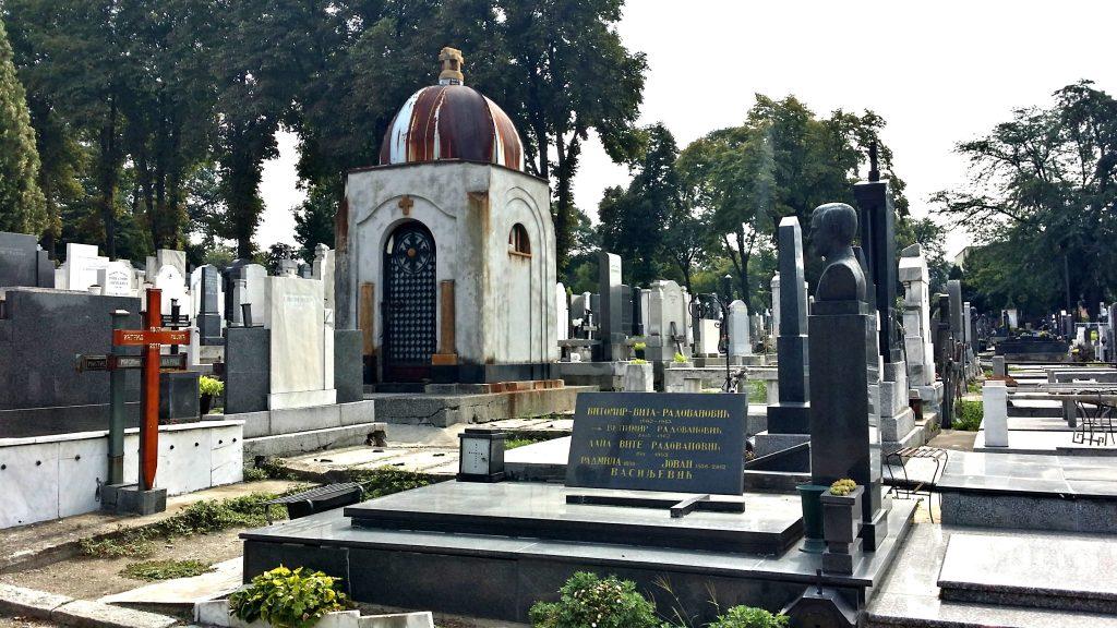 Cripte cimitero Belgrado Novo Groblje