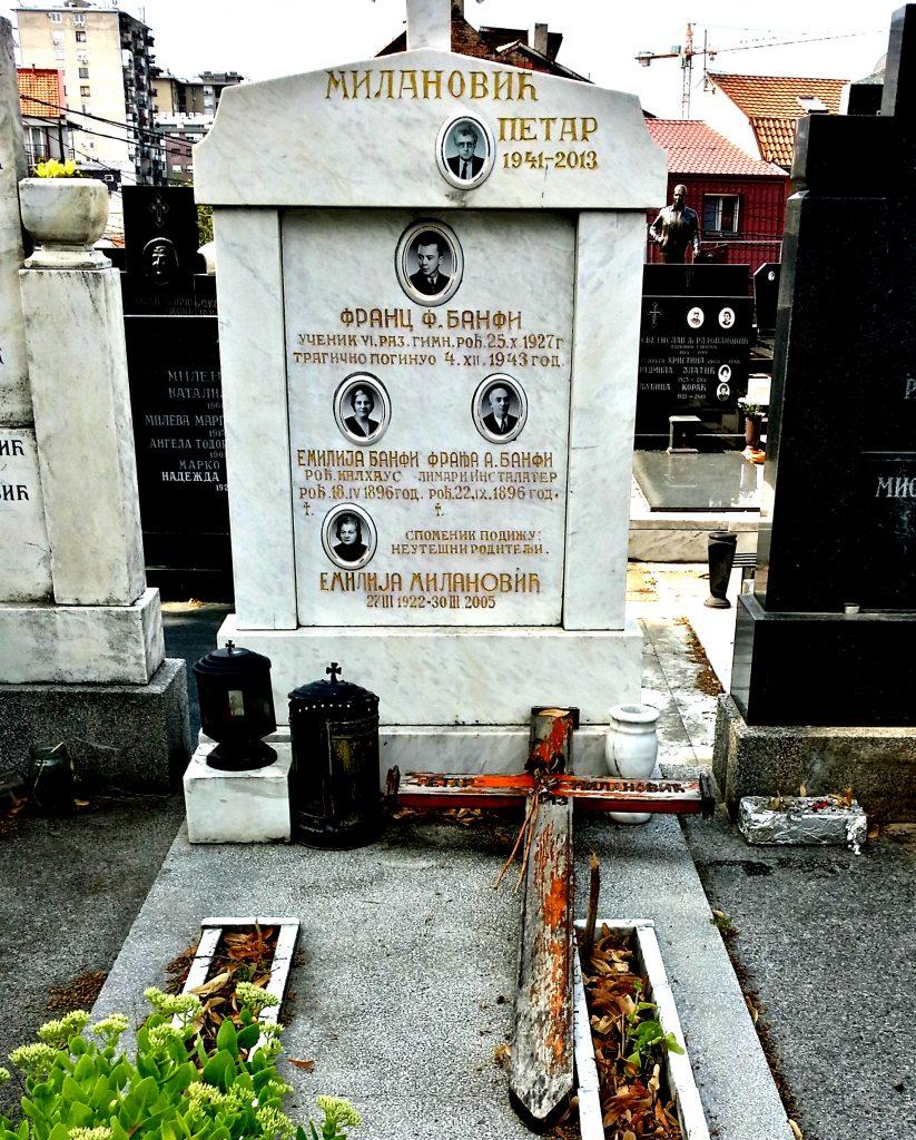 tombe cimitero belgrado
