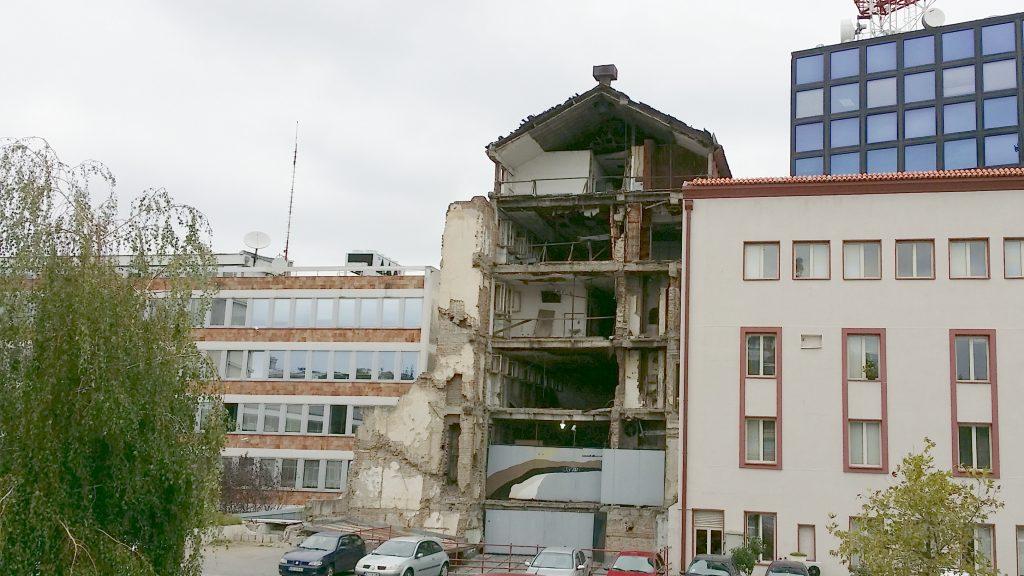Palazzo televisione di stato Serbia Belgrado RTS