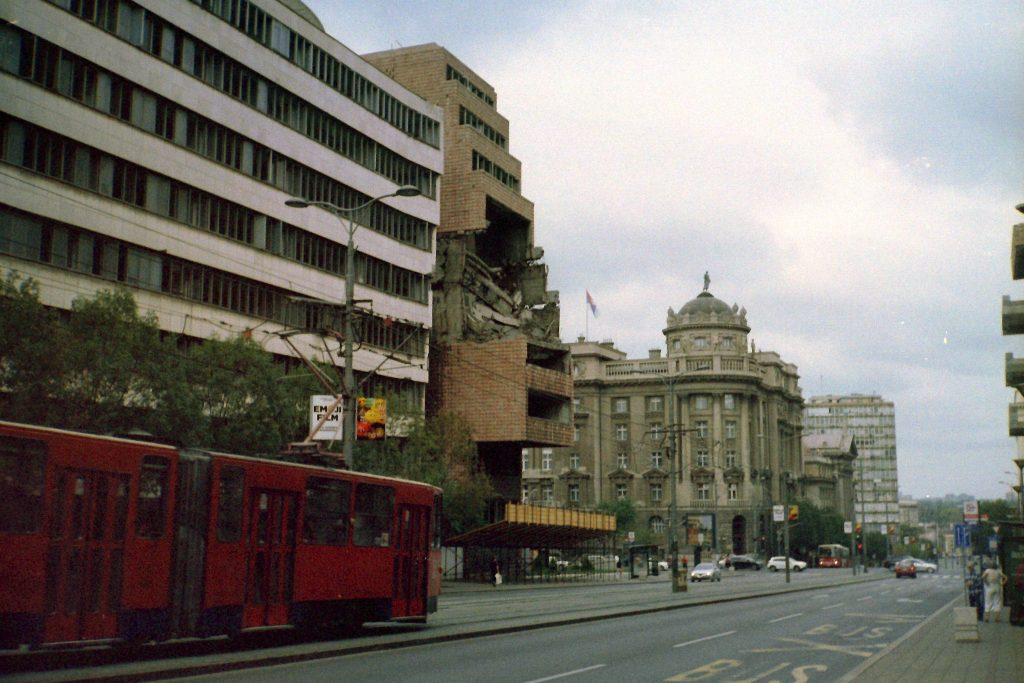 Generalštab bombing belgrad