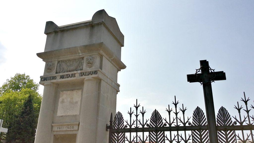 serbia italian military memorial novo groblje