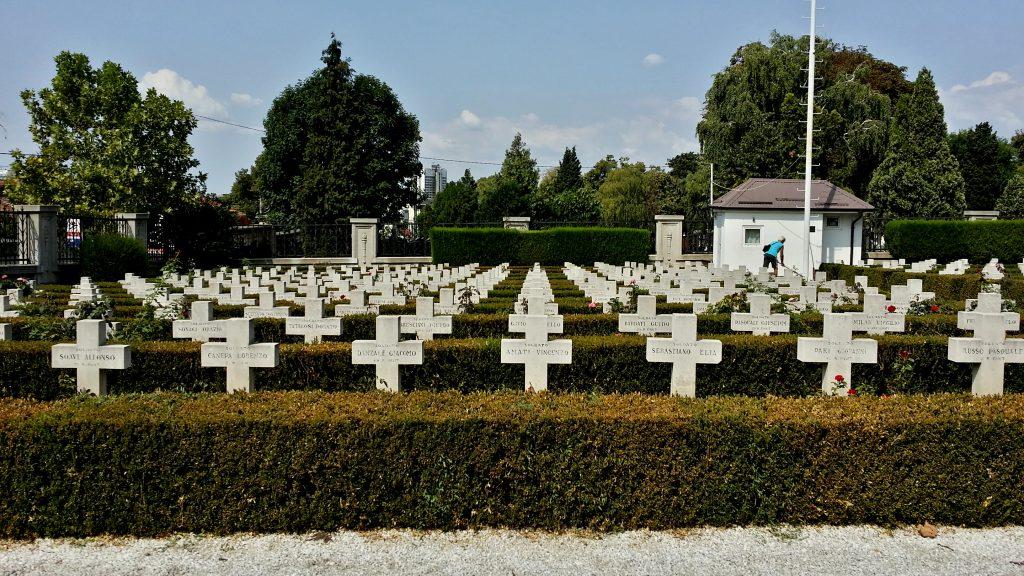 sacrario militare italiano serbia belgrado