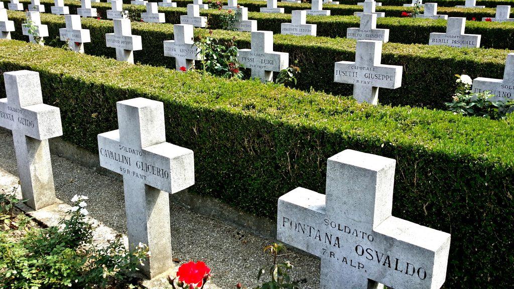 Italian military cemetery in Serbia belgrad