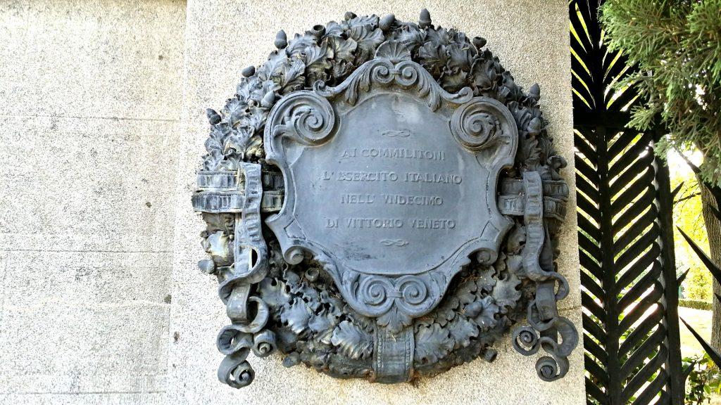 stemma vittorio veneto cimitero belgrado