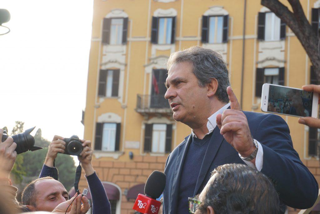 Roberto Fiore Forza Nuova San Lorenzo Roma
